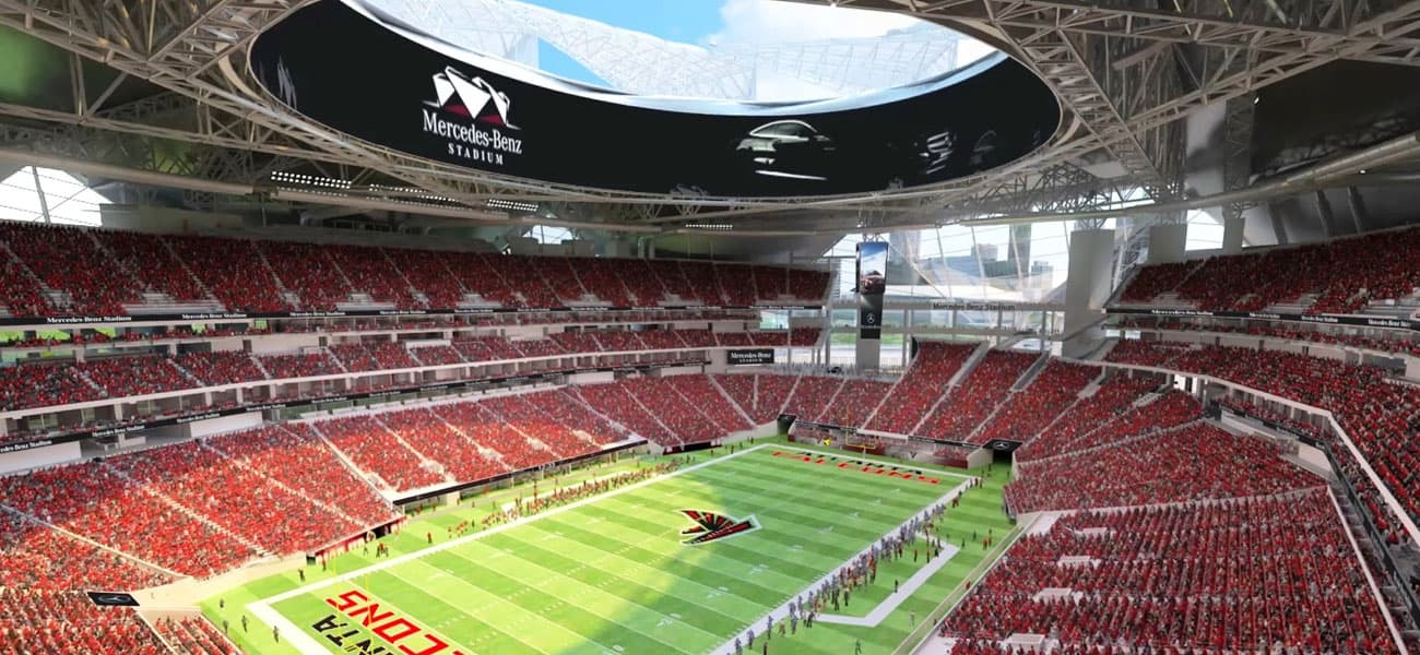 Country star garth brooks to be inaugural mercedes benz for Mercedes benz stadium atlanta capacity