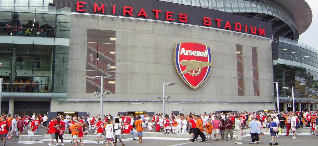 Emirates Stadium crowd