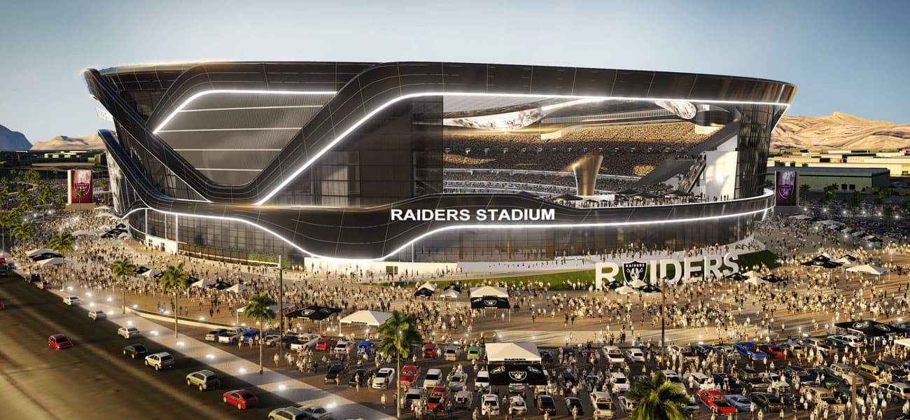 Las-Vegas-Stadium Raiders