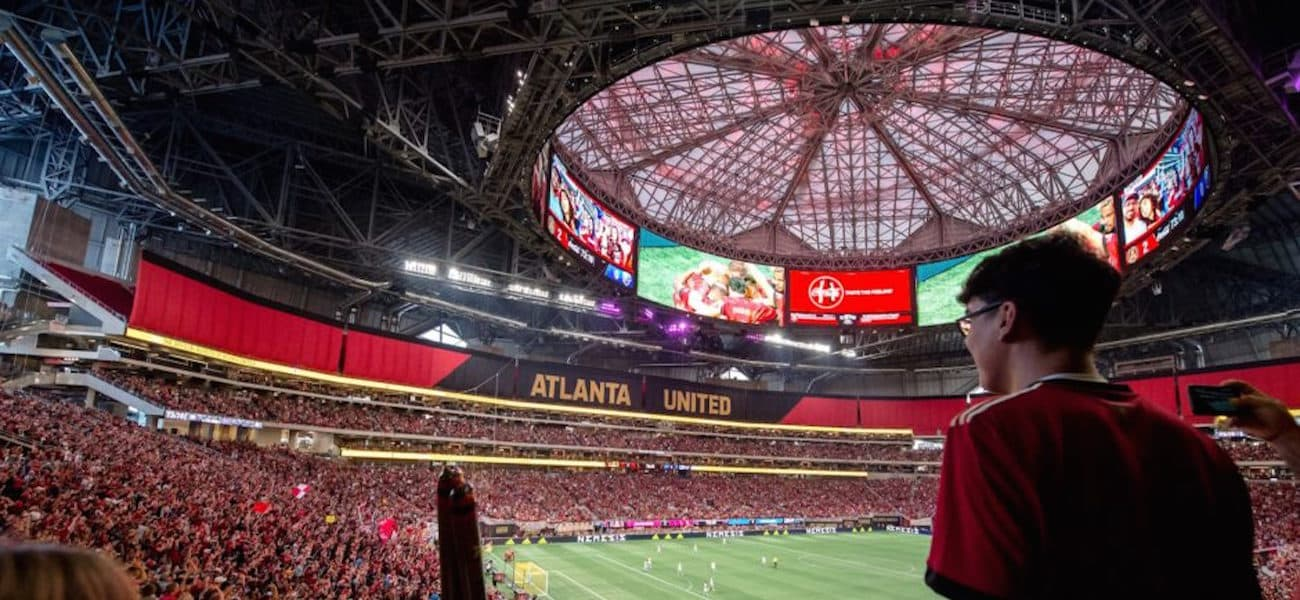 Atlanta United roof