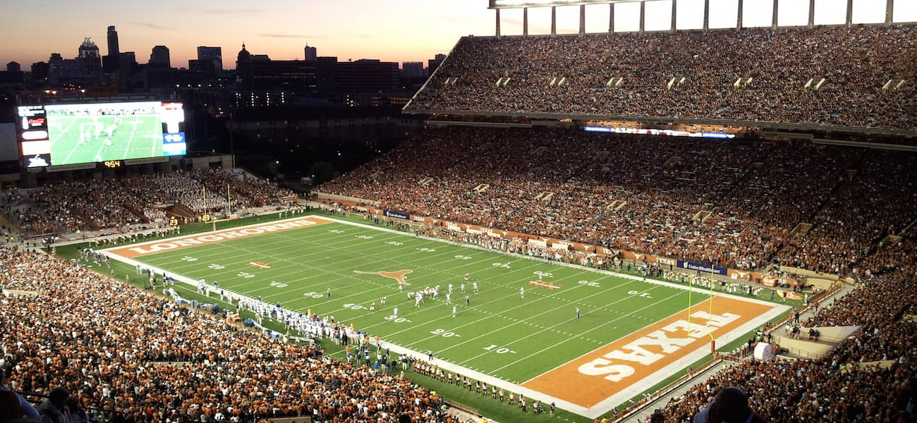 Darrell K Royal-Texas Memorial Stadium Ricoh
