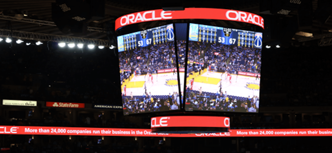 Oracle Arena Toshiba