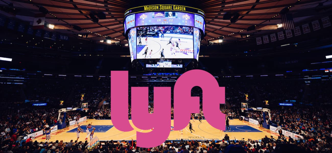 Madison Square Garden Lyft
