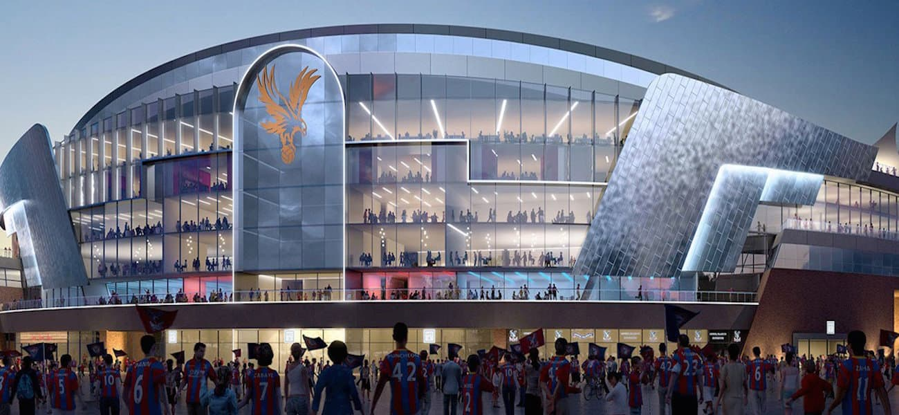 Selhurst Park re-house Crystal Palace
