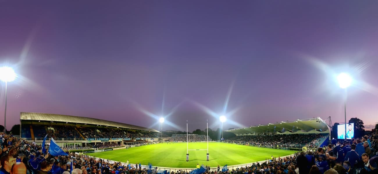RDS Irish stadiums
