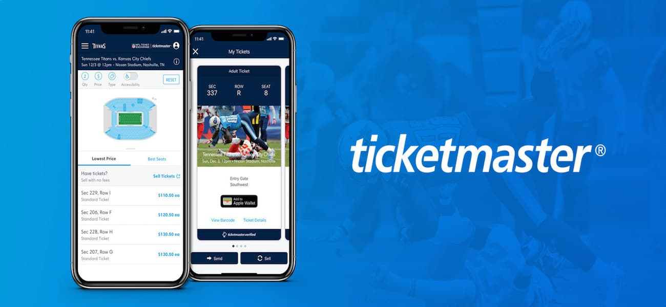 Titans Ticketmaster