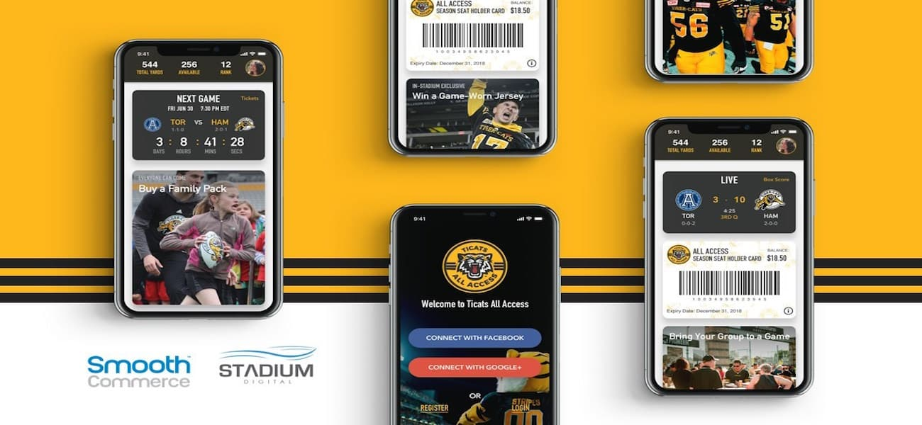 Smooth Commerce Stadium Digital and Smooth Commerce Partner to P