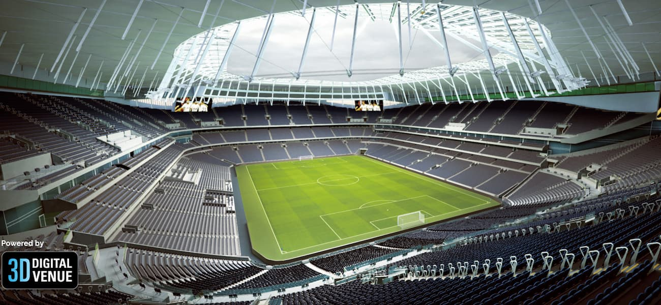 Pitch Trays Move Into Position At New Tottenham Stadium