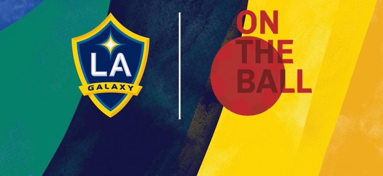LA Galaxy On The Ball