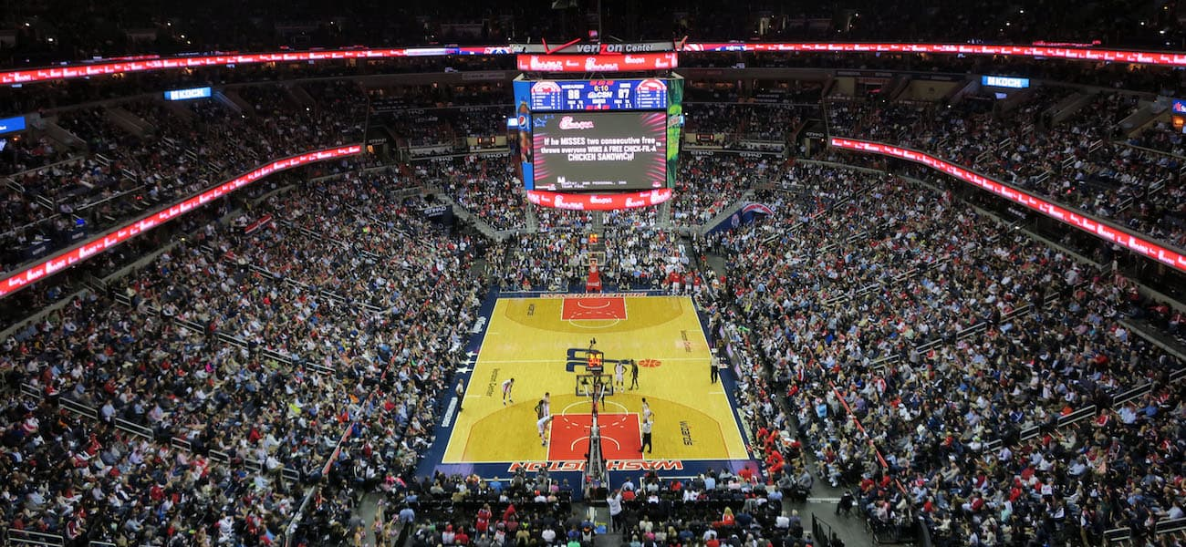 Leonsis planning sportsbook at Capital One Arena - The Stadium Business