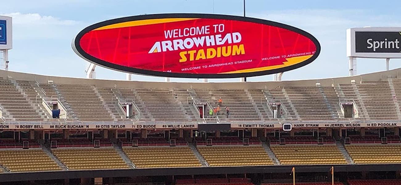 Daktronics Arrowhead Stadium