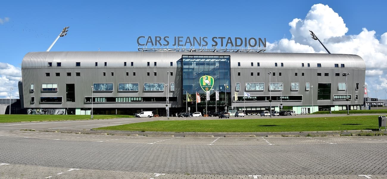sports shoes preview of better AZ to play at ADO Den Haag stadium following roof collapse ...
