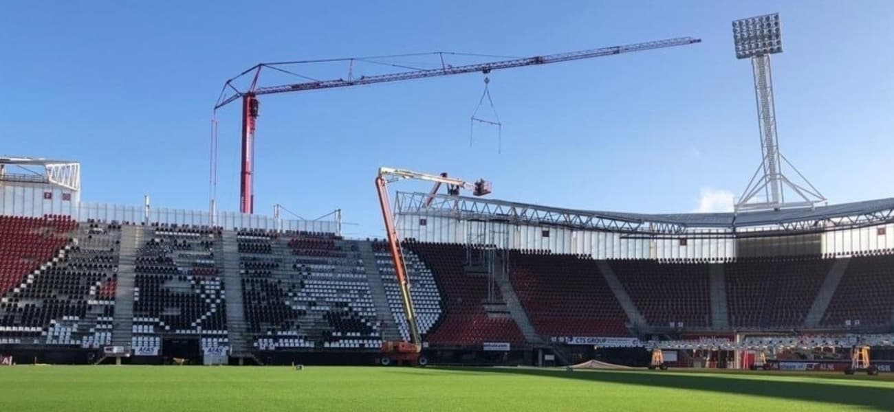 Az Alkmaar To Conduct Further Roof Work At Afas Stadion The Stadium Business