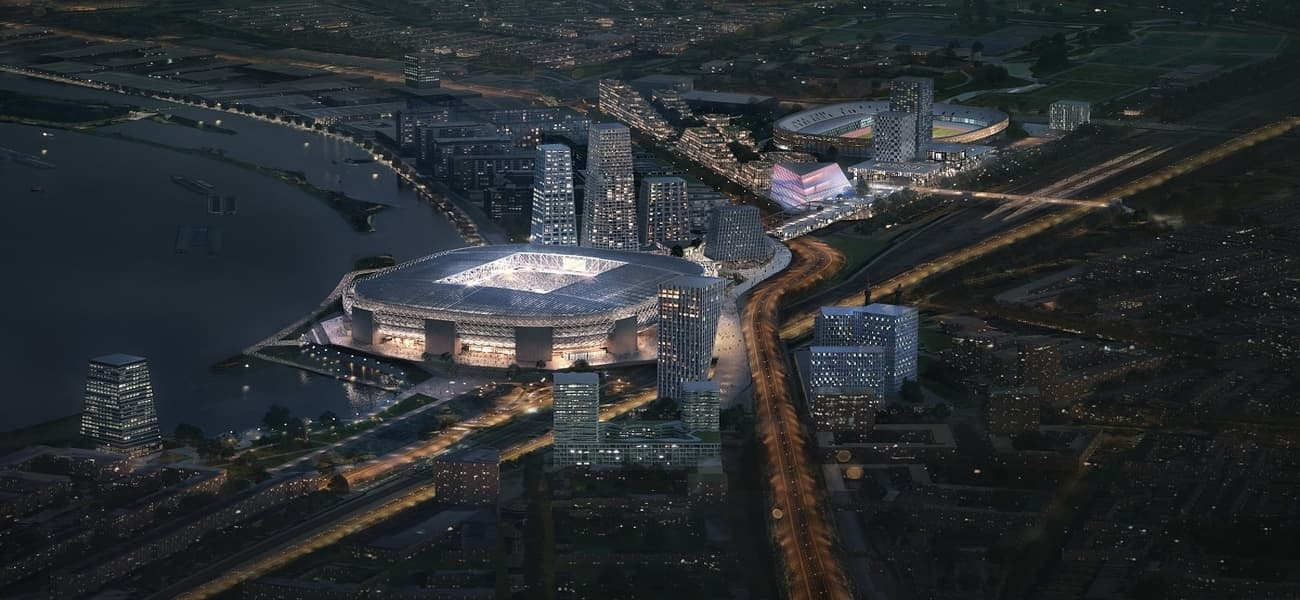 Masterplan Submitted For Feyenoord City The Stadium Business