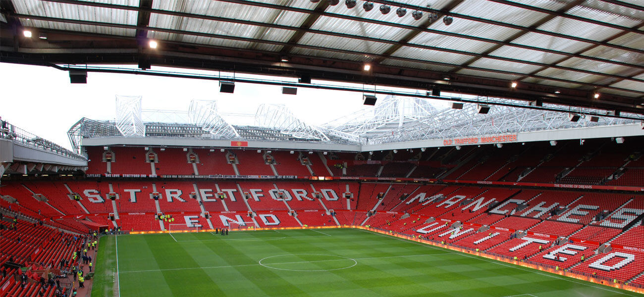 man utd s old trafford ready to welcome 23 500 fans the stadium business man utd s old trafford ready to welcome