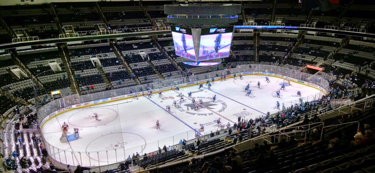 Sharks to set NHL first with cryptocurrency trial - The Stadium Business